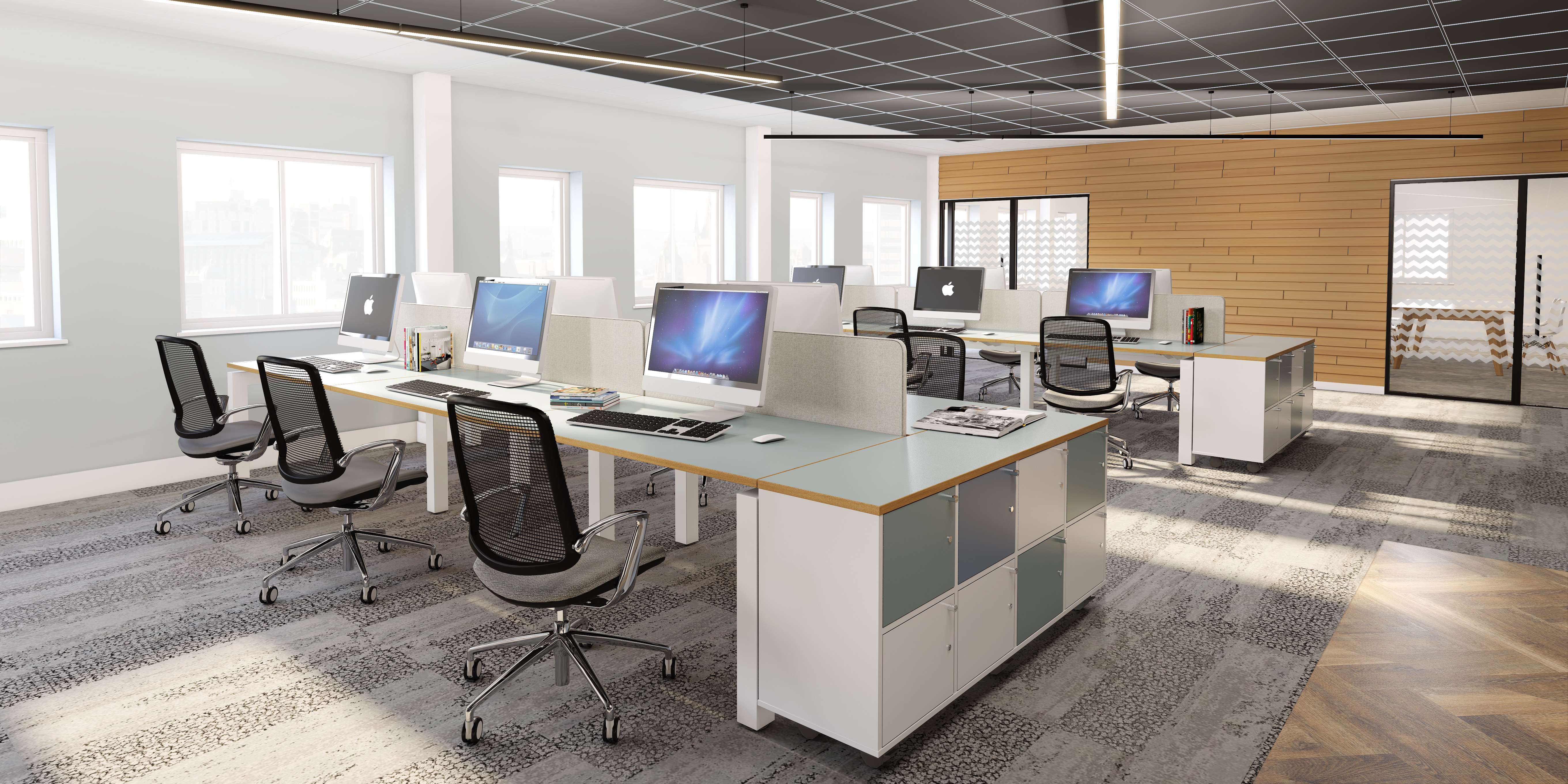 FIZZ UP YOUR OPEN PLAN OFFICE WITH EBORCRAFT'S NEW RANGE OF FURNITURE!