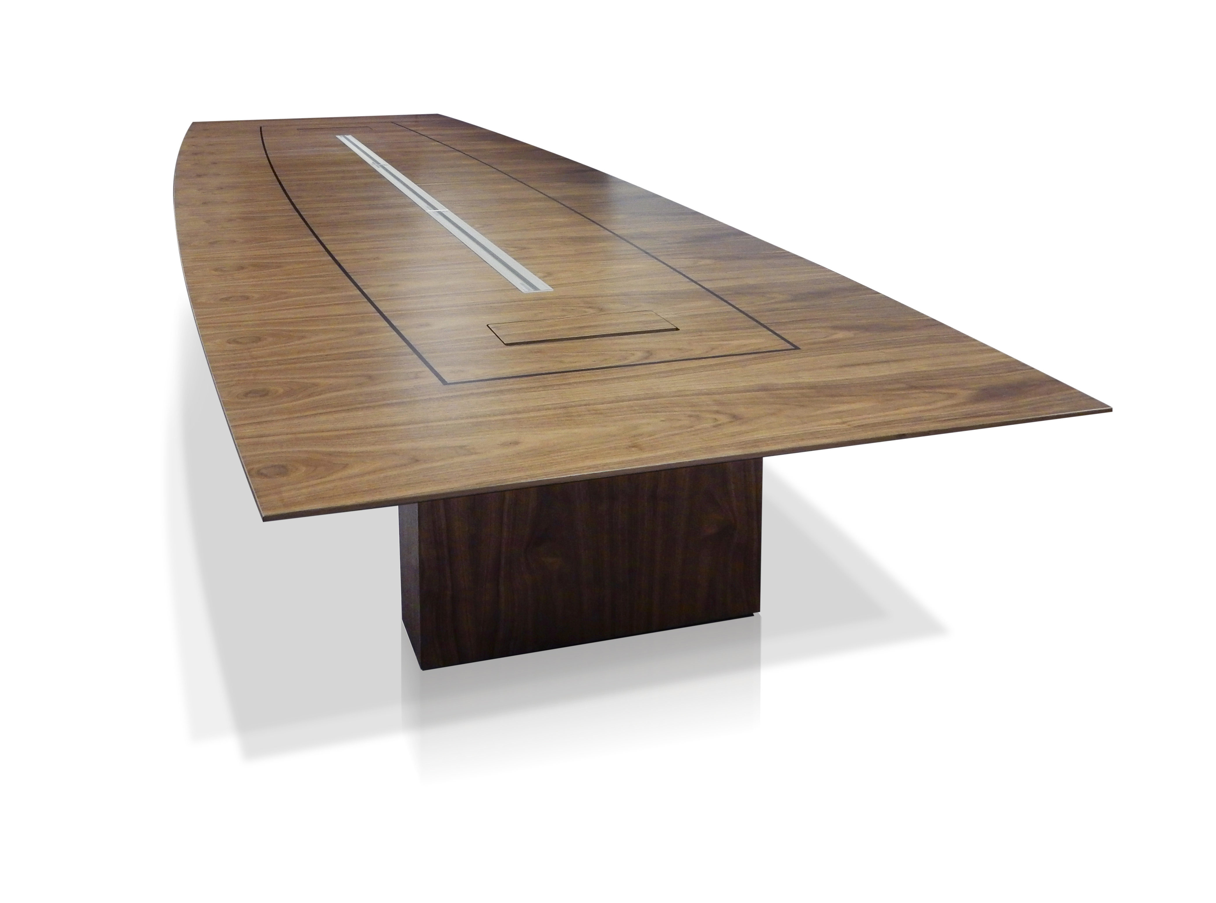 EBORCRAFT'S NEW BOARDROOM TABLE COMBINES APPEARANCE WITH FUNCTIONALITY