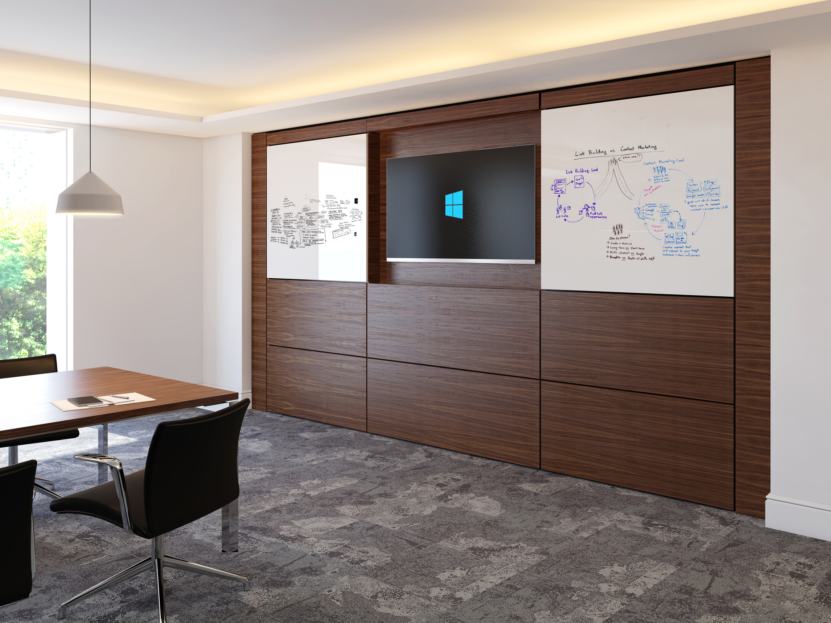 EBORCRAFT'S VIEW RANGE MAKES AN IMPACT IN THE BOARDROOM